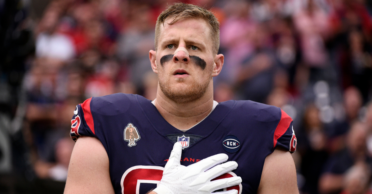 J.J. Watt's Net Worth Isn't Bigger Than His Heart, But It's Close