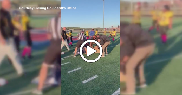 Fight Erupts After Pee Wee Football Coach Attacks Referee