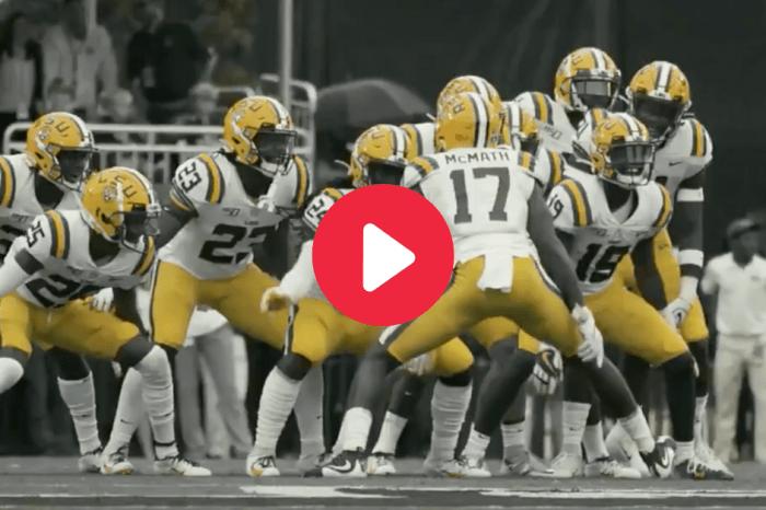 "LSU Releases Hype Video for Showdown vs. Auburn: ""Will You Rise?"""