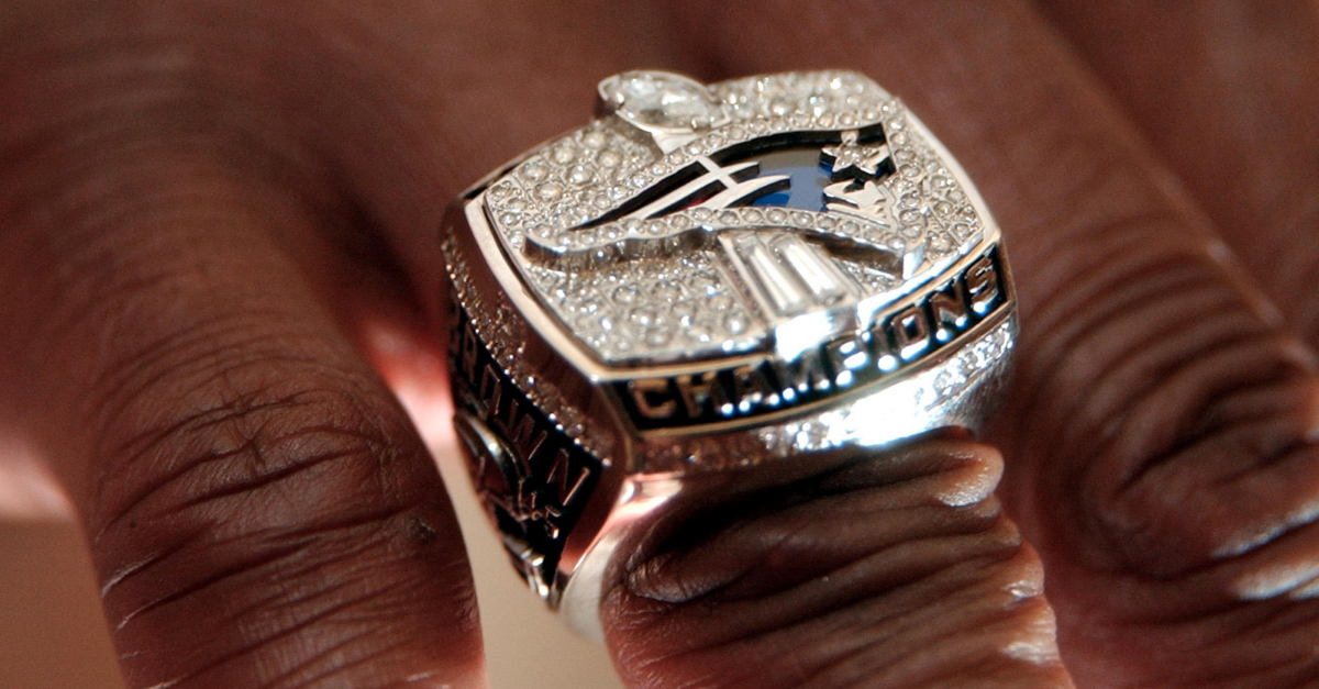 For Under $50, Fans Can Own Every Patriots Super Bowl Ring