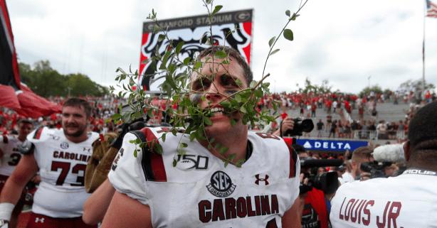 Georgia Fans: Don't Forget South Carolina Destroyed Sanford's Hedges