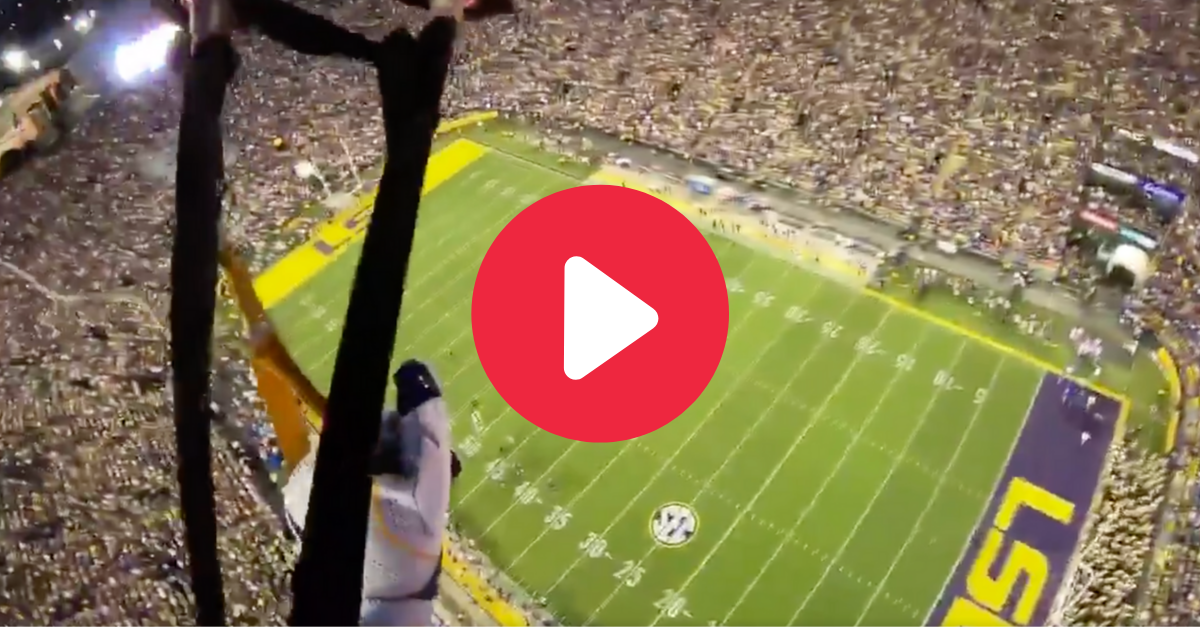 Skydive Into LSU's Tiger Stadium Alongside a U.S. Army Soldier