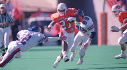 Barry Sanders Named College Football's Greatest Player Ever