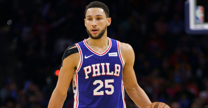 Ben Simmons' First 3-Pointer in 1,451 Days Broke the Internet
