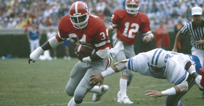 Herschel Walker Voted the Greatest College Player of All Time