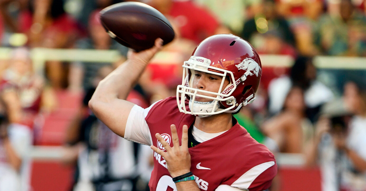 Jerry Jones' Grandson Named Starting QB at Arkansas