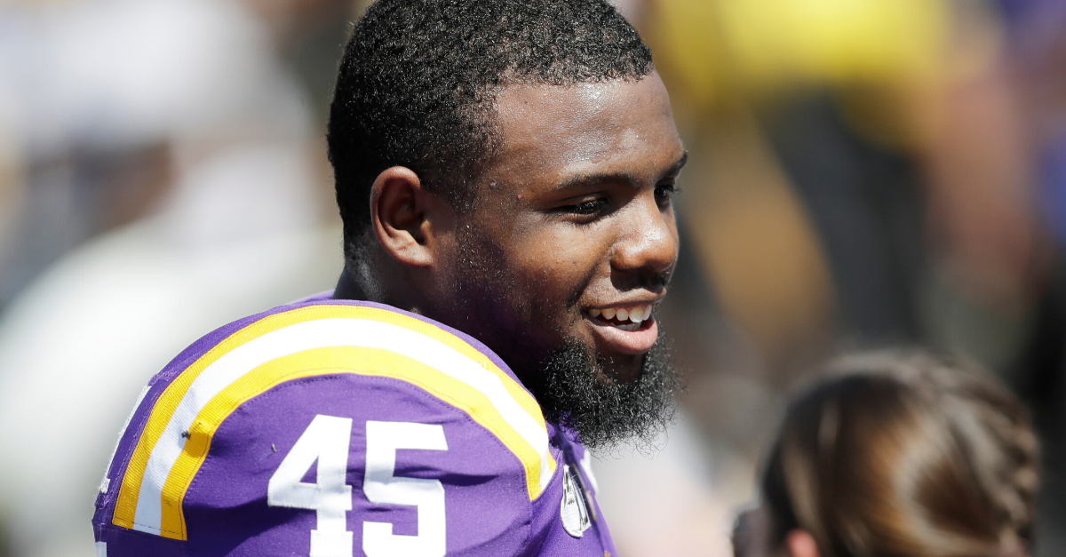 "LSU's Michael Divinity Returns After Leaving for ""Personal Reasons"""