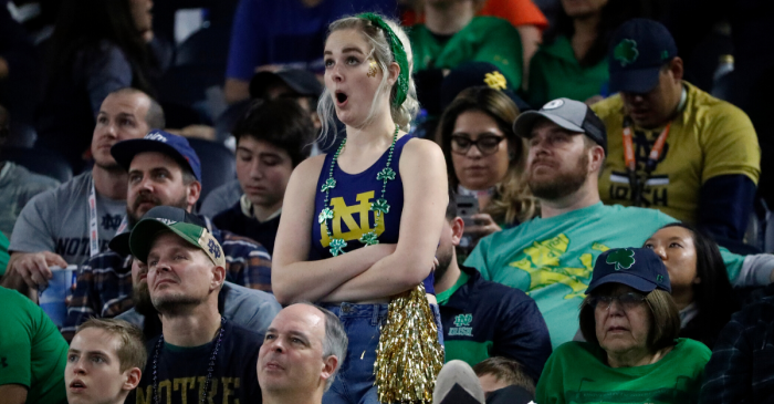 Notre Dame's Home Sellout Streak Ends After 46 Years
