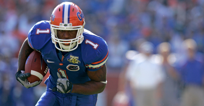 """Percy Harvin Will Serve as Honorary """"Mr. Two Bits"""" Against FSU"""
