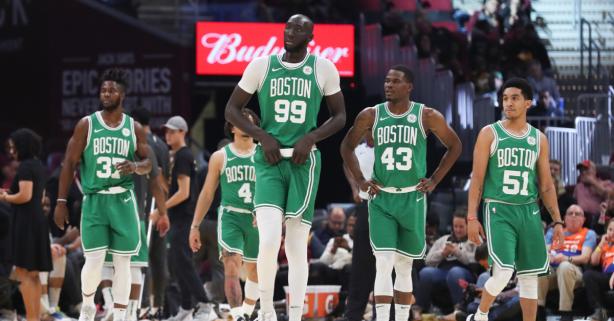The NBA's Tallest Players Make Regular Folks Look Ridiculous