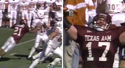 """Texas A&M Won """"The Bonfire Game"""" on Brian Gamble's Memorable Fumble Recovery"""