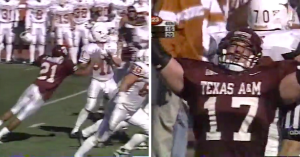 "Texas A&M Won ""The Bonfire Game"" on Brian Gamble's Memorable Fumble Recovery"