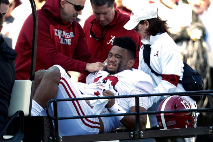 Alabama's Tua Tagovailoa Out for Season with Dislocated Hip