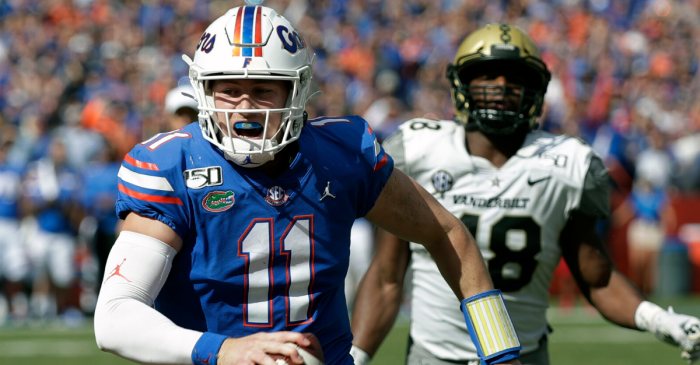 Kyle Trask, Florida's Offense Have Historic Day vs. Vanderbilt