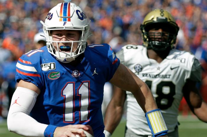 Kyle Trask, Florida's Offense Have Historic Day vs. Vanderbilt