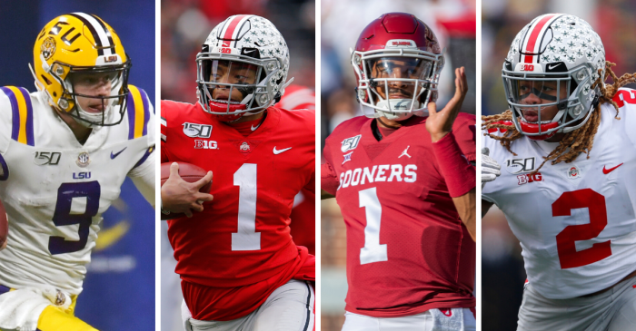 Heisman Trophy Finalists: Burrow, Fields, Hurts and Young