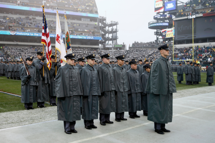 "The Army-Navy ""Prisoner Exchange"" is College Football's Coolest Tradition"
