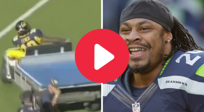 Marshawn Lynch's Golf Cart Ride Will Forever Be His Greatest Moment