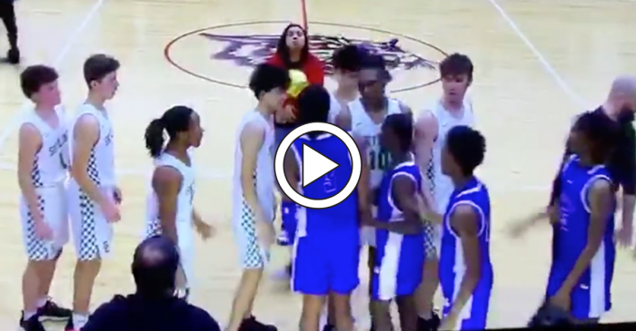 Postgame Handshake Quickly Turns Into Ugly Brawl After Title Game