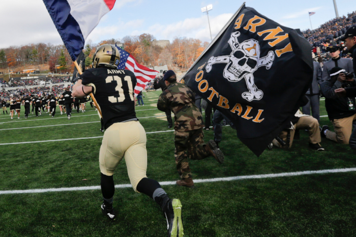 Army Football Drops Flag Motto Linked to White Supremacists