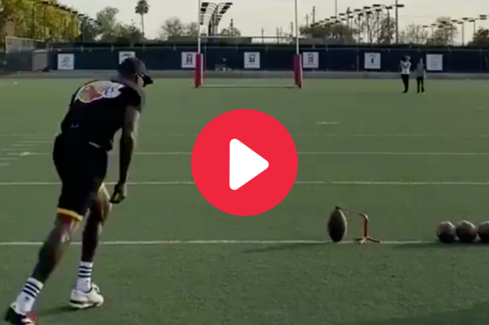 Chad Johnson Nails 60-Yard Field Goal With Ease