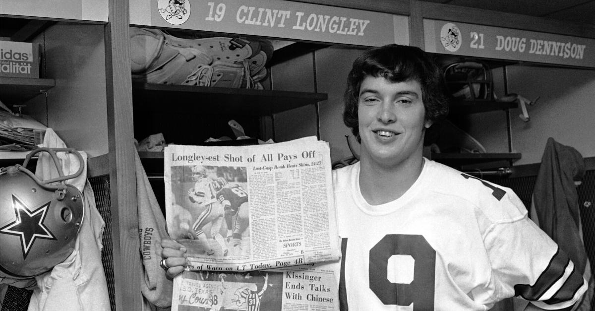 Clint Longley, The Mad Bomber