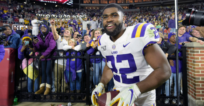 LSU RB Clyde Edwards-Helaire Could Miss CFP Semifinal