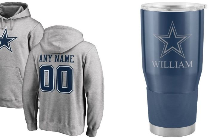 "8 Personalized Dallas Cowboys Gifts for Real Fans of ""America's Team"""