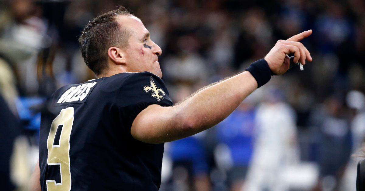 Drew Brees Breaks NFL Record with 540th Touchdown Pass