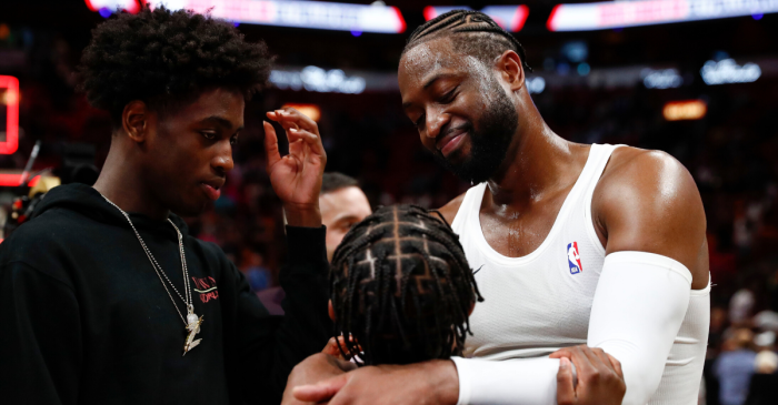 "Dwyane Wade Supports Son Growing ""Into Who She Now"" Is"