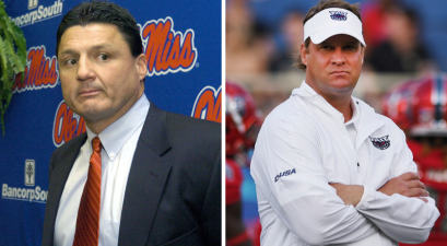 Report: Ed Orgeron Told Lane Kiffin Not to Take Ole Miss Job