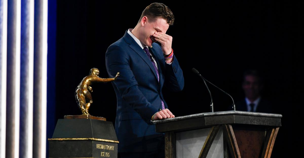 Joe Burrow's Heisman Speech Inspires $425,000 in Donations to Hometown Food Pantry