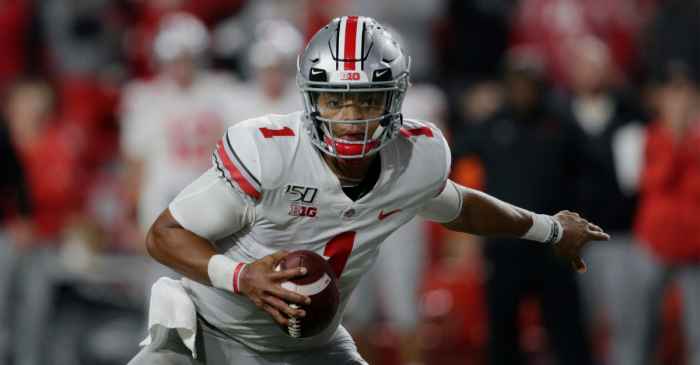 Justin Fields Named Big Ten Offensive Player of the Year