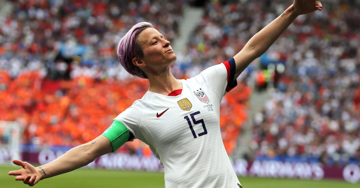 U.S. Soccer's Megan Rapinoe Named Sportsperson of the Year