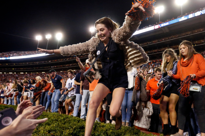Auburn Fined $250,000 for Storming Field After Iron Bowl