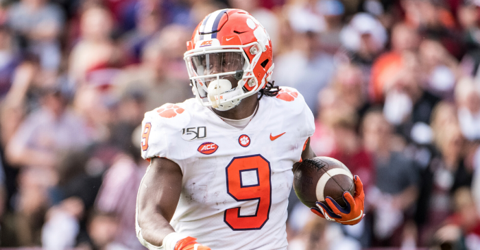 Clemson's Travis Etienne Repeats as ACC Player of the Year