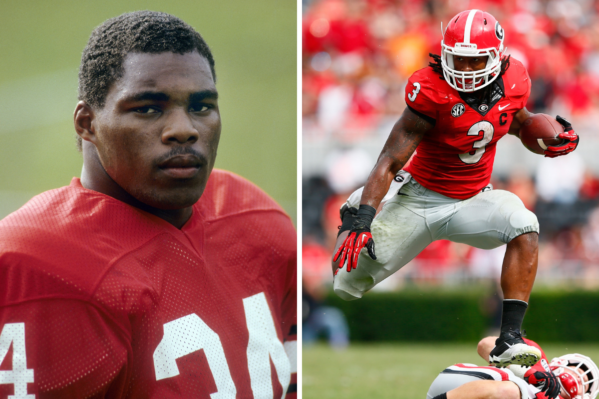 The 15 Greatest Georgia Running Backs of All Time, Ranked