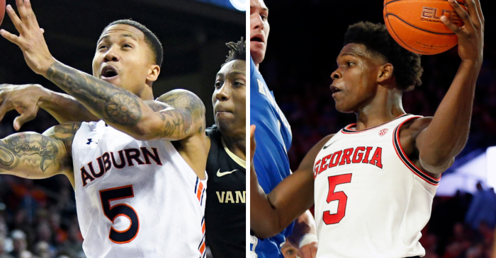No. 5 Auburn Faces Georgia in SEC's Game of the Weekend