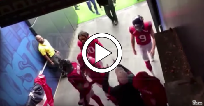 "Texans Coach Fires Back at Heckler: ""Screw You Mother****er"""