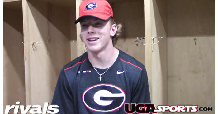 Georgia's 5-Star QB Commit Already Looks Like The Next Matt Stafford