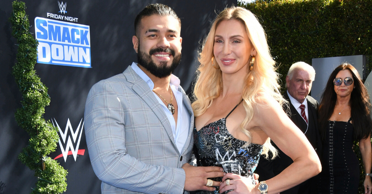 Charlotte Flair Gets Engaged to WWE Champion Andrade on NYE
