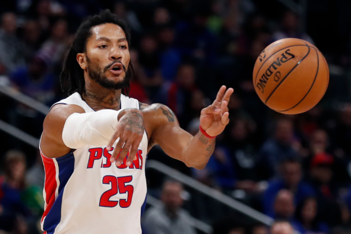 Derrick Rose Fined $25,000 for Throwing a Pen