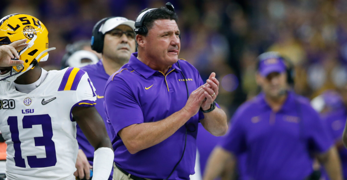 Ed Orgeron's Salary Makes Him King of Louisiana