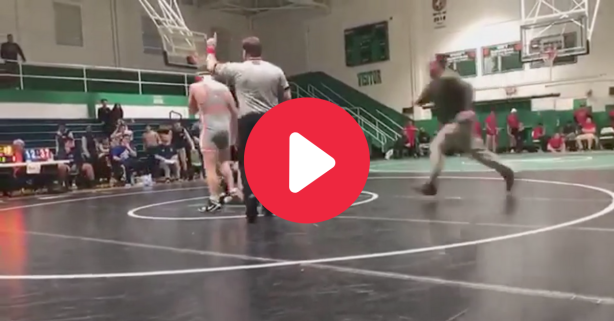 Father Ambushes Son's Wrestling Opponent Out of Rage
