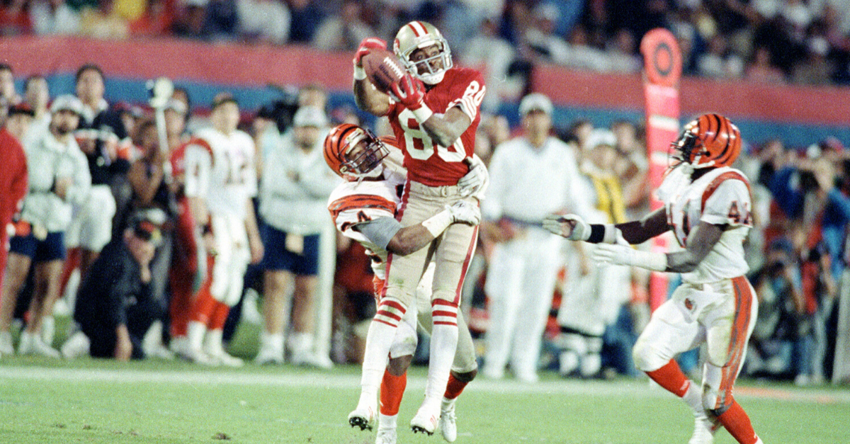 Jerry Rice's First Super Bowl Ring Started His Legacy
