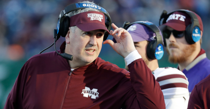 Mississippi State Fires Coach Joe Moorhead After 2 Seasons
