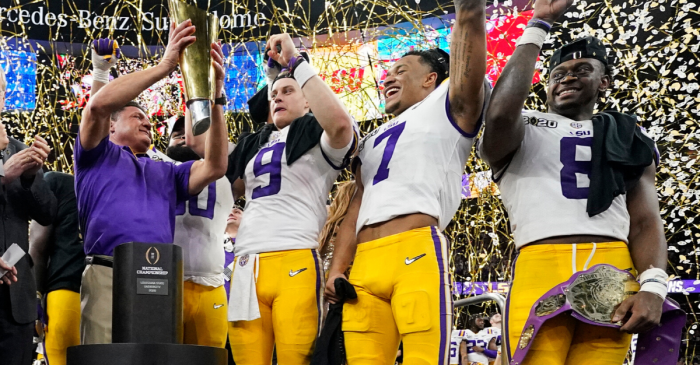 Ranking LSU's 2019 Team Among College Football's Greatest