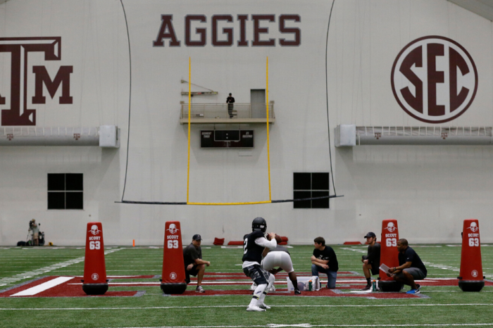 Texas A&M's Football Facilities Are Second to None