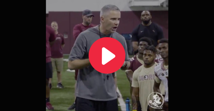 See Mike Norvell's Passion in Fiery Speech to FSU Players