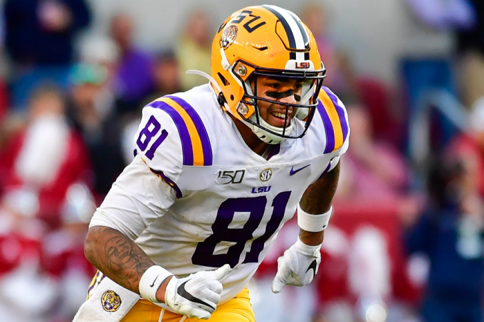 Randy Moss' Son Ready for NFL After Record-Setting LSU Career